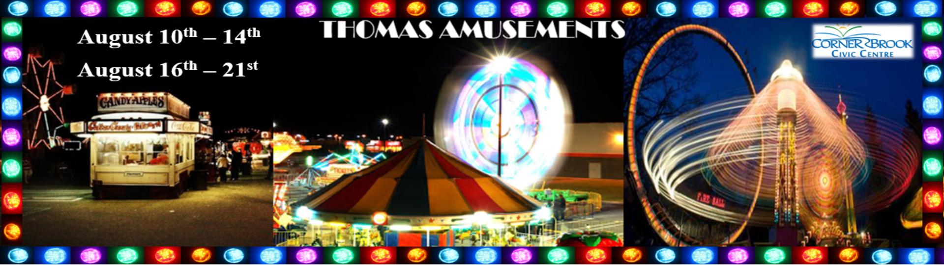 Corner Brook Thomas Amusements!